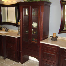 Traditional Bathroom by David L. Scott / Lowe's Design Center