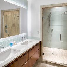 Contemporary Bathroom by Area Floors