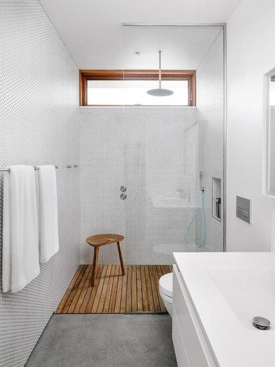 Contemporary Bathroom by Turkel Design