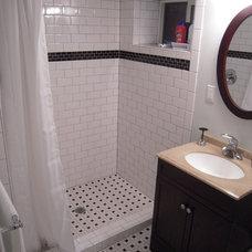 Traditional Bathroom by Orlando Construction Inc.