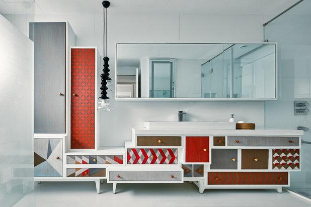 Contemporary Bathroom by Fadd Studio