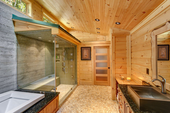 Contemporary Bathroom by Anthemion Architecture LLC