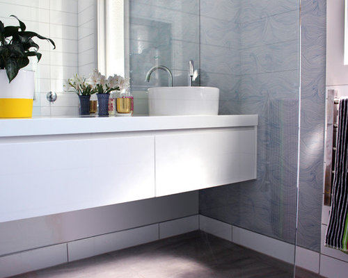 25 Best Napier-Hastings White Tile Bathroom Ideas & Decoration ...