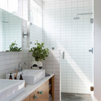 Polished Projection Contemporary Bathroom Nashville By Jamie Beckwith Collection