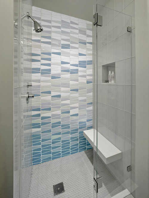 Master bath shower contemporary bathroom san francisco by - Frameless Glass Shower Enclosure Home Design Ideas