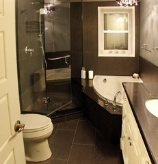 contemporary bathroom by Schnarr Craftsmen Inc