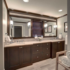 Contemporary Bathroom by PRM Custom Builders, LLC