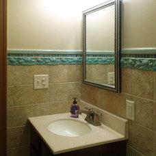 Traditional Bathroom by Medicine Bluff Studio
