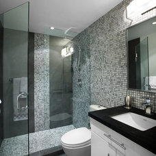 Contemporary Bathroom by Klondike Contracting