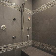 Contemporary Bathroom by Debbie Mead