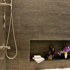 Modern Bathroom by David Sharff Architect, P.C.