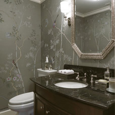 Traditional Bathroom by SLC Interiors