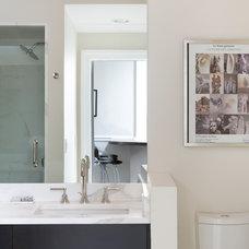 Contemporary Bathroom by Ben Gebo Photography