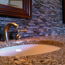 Traditional Bathroom by Fireplace & Granite Distributors