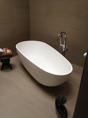 Badeloft Freestanding Bathtub \'BW-01-XL\' UPC Certified StoneResin ...