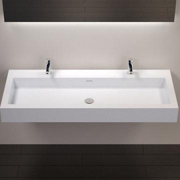 Badeloft Sinks - Wall Mounted - Stone Resin