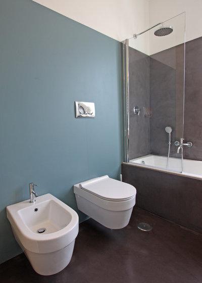 Lavori cartongesso soffitto - Smalto piastrelle bagno ...