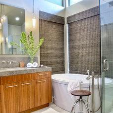 Contemporary Bathroom by Kristin Lam Interiors
