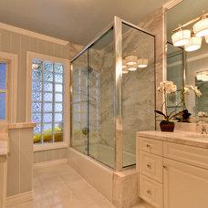 Traditional Bathroom by Blackband Design