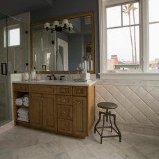 Traditional Bathroom by CM Designs