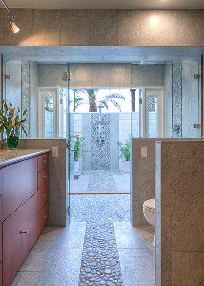 Contemporary Bathroom by Allure Designs