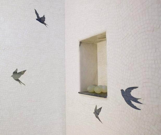 Contemporary Bathroom by Sara Baldwin Design