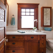 Craftsman Bathroom by Bali Construction