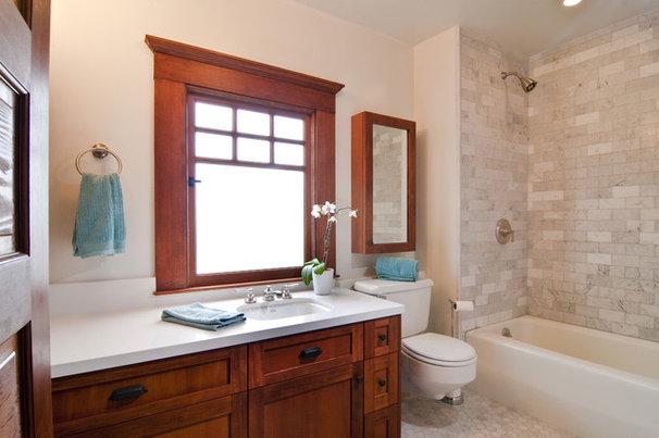 Craftsman Bathroom by Bali Construction