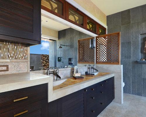 Asian Hawaii Bathroom Design Ideas Remodels Photos