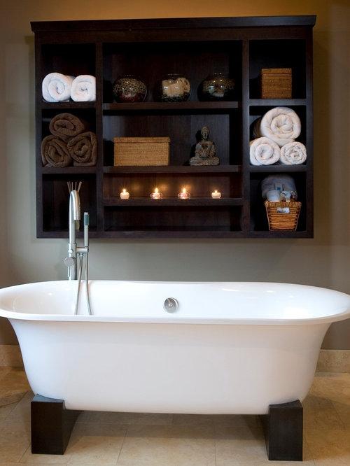 Asian bath influenced kitchen merchandise