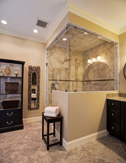 Traditional bathroom by case remodeling - How much for small bathroom remodel ...