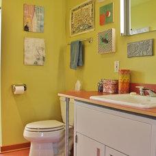 Eclectic Bathroom by Kimberley Bryan