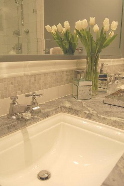 Traditional Bathroom by Elizabeth P. Lord Residential Design