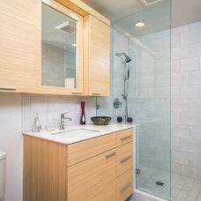 Contemporary Bathroom by W2Design, LLC