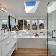 Contemporary Bathroom by Zinc Art + Interiors