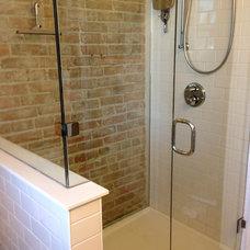 Traditional Bathroom by Condon Contracting