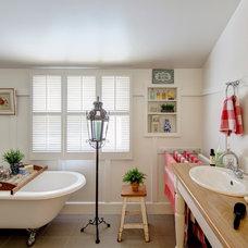 Eclectic Bathroom by Shotglass Photography