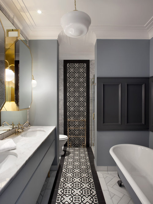 Transitional dublin bathroom design ideas remodels photos for Bathroom design dublin
