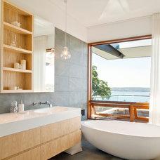 Contemporary Bathroom by Steele Associates