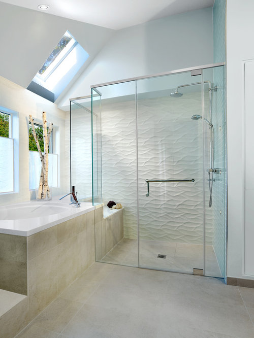 Cambria quartz shower walls and bathtub ideas pictures for Bathroom ideas with quartz
