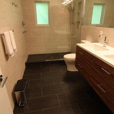 Modern Bathroom by Shaun Alan Photography