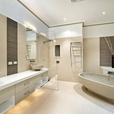Contemporary Bathroom by Paul Hutchison Kitchen Bathroom Design Studios