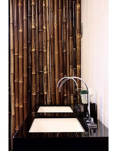 Asian Bathroom bamboo bathroom