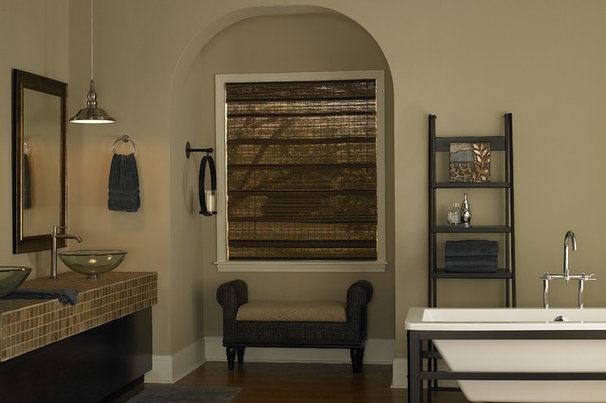 Traditional Bathroom by 3 Day Blinds