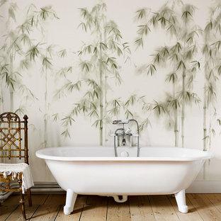 Bamboo, Hand- Painted Wallpaper