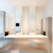 Modern Bathroom by Eidolon Designs