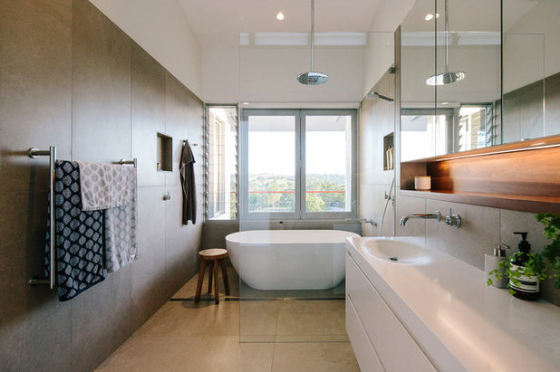 Houzz Tour A House That Catches The Sun - Byron bay beach home designed by davis architects