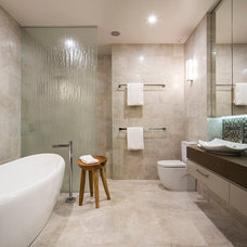 Contemporary Bathroom by AKL Designer Kitchens