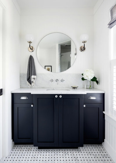 Traditional Bathroom by C. Kramer Interiors