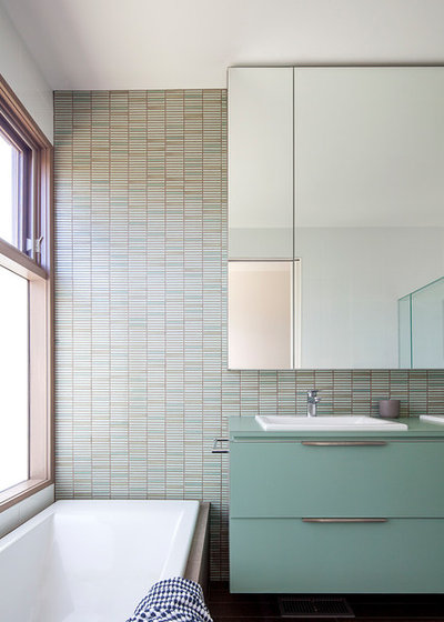 Contemporary Bathroom by Luke Stanley Architects